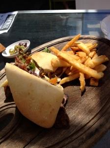 An Aussie staple: The Steak Sandwich