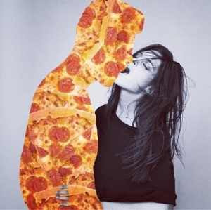 It's cool, I've got pizza, and that's pretty much the same thing as love.
